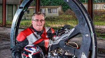 La Motocicleta Mono Rueda Más Rápida Del Mundo