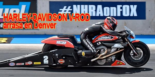HARLEY-DAVIDSON V-ROD arrasa en Denver mini