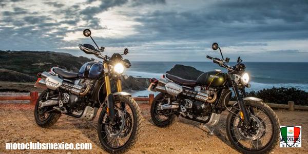 Triumph Scrambler 1200 Xe y XC